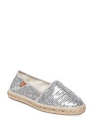 Woms Slip-on - SILVER SEQUINS