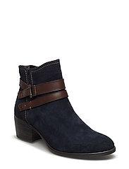 Woms Boots - Becka - NAVY/ESPRESSO