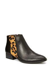 Boots - BLACK/LEOPARD
