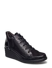 Woms Boots - Editha - BLACK