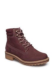Woms Boots - Catser - BORDEAUX NUBUC