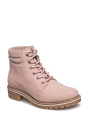 Woms Boots - Catser - LT.PINK NUBUC