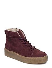 Woms Boots - BORDEAUX SUEDE