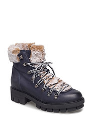 Woms Boots - NAVY COMB