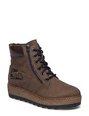 Woms Boots - Badam - MOSS/MOCCA