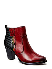 Woms Boots - SCARLET/BLACK