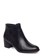 Woms Boots - BLK/SNAKE STR.
