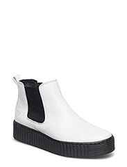 Woms Boots - WHITE LEATHER