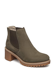 Woms Boots - Irina - OLIVE