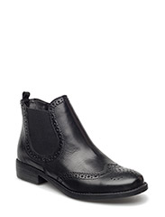 Woms Boots - Taina - BLACK LEATHER