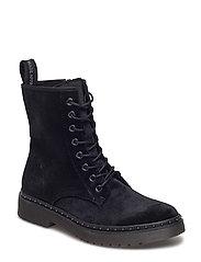 Woms Boots - Durand - BLACK VELVET