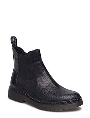 Woms Boots - BLACK STRUCT.