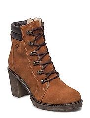 Woms Boots - COGNAC/MOCCA