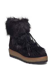 Woms Boots - Badam - BLACK