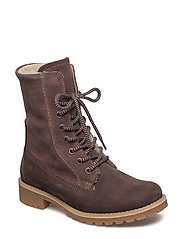 Woms Boots - CHOCOLATE