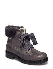 Woms Boots - GREY MET.COMB