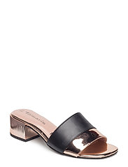 Woms Slides - BLACK/COPPER