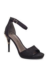 Woms Sandals - BLACK/GOLD