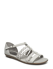 Woms Sandals - WHITE/SILVER