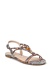Woms Sandals - BROWN COMB