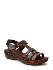 Woms Sandals - MOCCA SNAKE