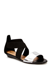 Woms Sandals - BLACK/SILVER