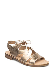 Woms Sandals - GOLD CRACK