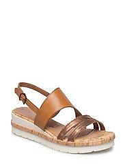 Woms Sandals - NUT