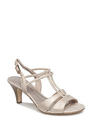 Woms Sandals - LIGHT GOLD