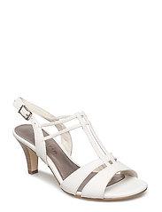 Woms Sandals - WHITE MATT