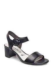 Sandals - BLACK LEATHER