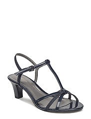 Woms Sandals - NAVY PAT/GLAM