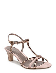 Woms Sandals - ROSE MET./GLAM