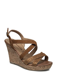 Woms Sandals - Selina - CUOIO/GOLD