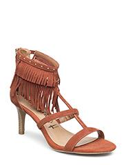 Woms Sandals - BRICK