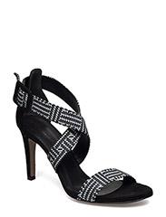 Woms Sandals - Silvia - BLACK COMB