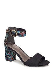 Woms Sandals - BLACK COMB