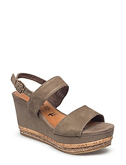 Woms Sandals - OLIVE