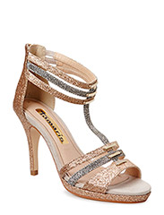 Woms Sandals - GOLD/PLATINUM