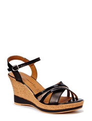 Woms Sandals - BLACK/SNAKE C.