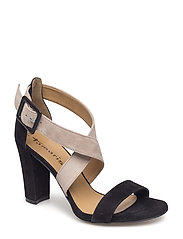 Woms Sandals - BLACK/NUDE