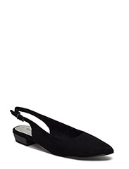 Woms Sling Back - Scota - BLACK