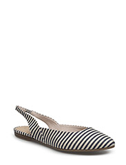 Woms Sling Back - Iron - NAVY STRIPES