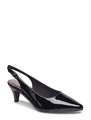 Woms Sling Back - BLACK PATENT