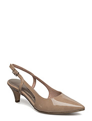 Woms Sling Back - NUDE PATENT