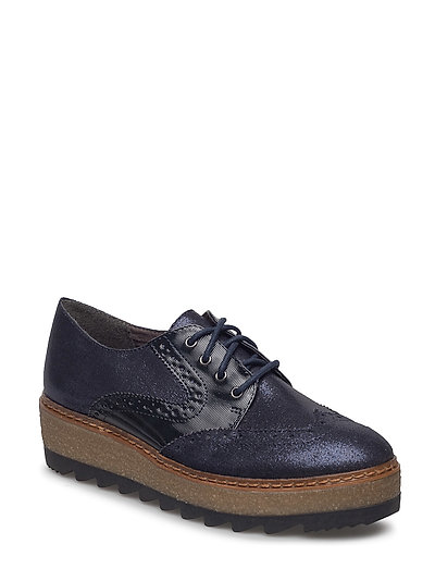 Woms Lace-Up - Badam