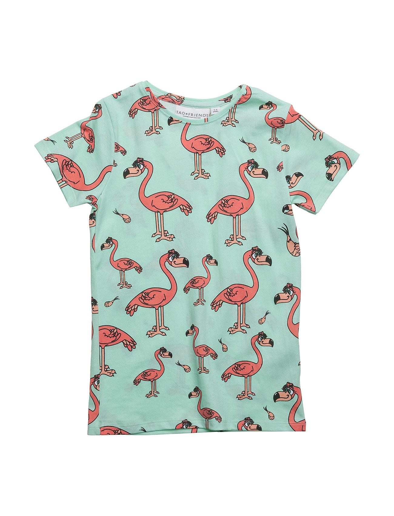 Tee flamingon multi-animal mint fra tao & friends fra boozt.com dk