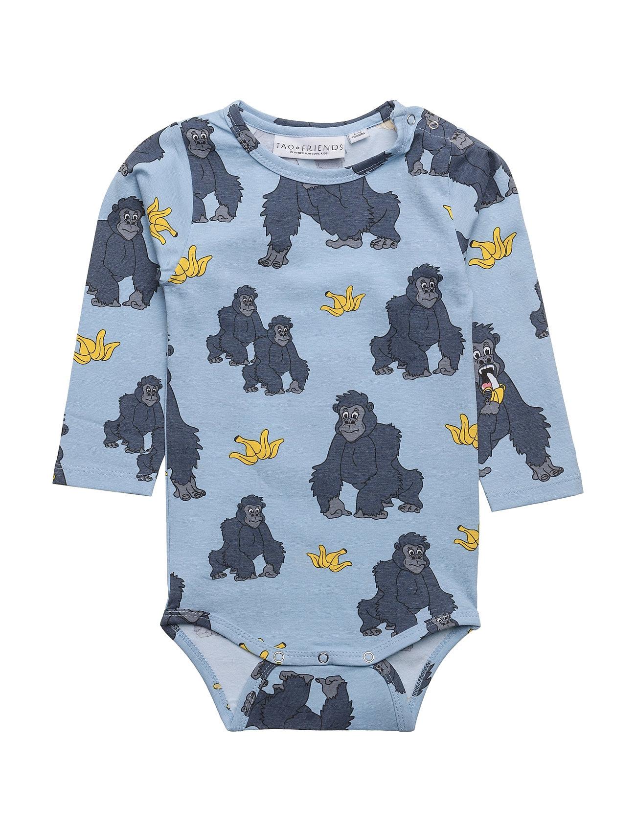 tao & friends – Baby body gorillan multi-animal blue fra boozt.com dk
