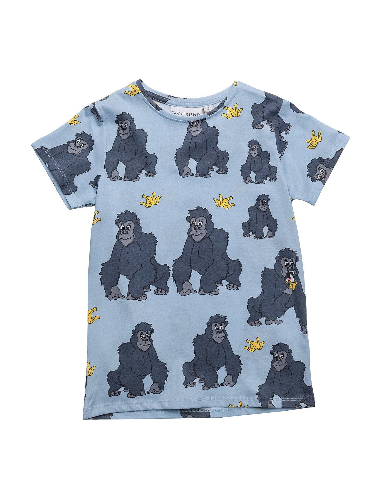 tao & friends Tee gorillan multi-animal blue fra boozt.com dk