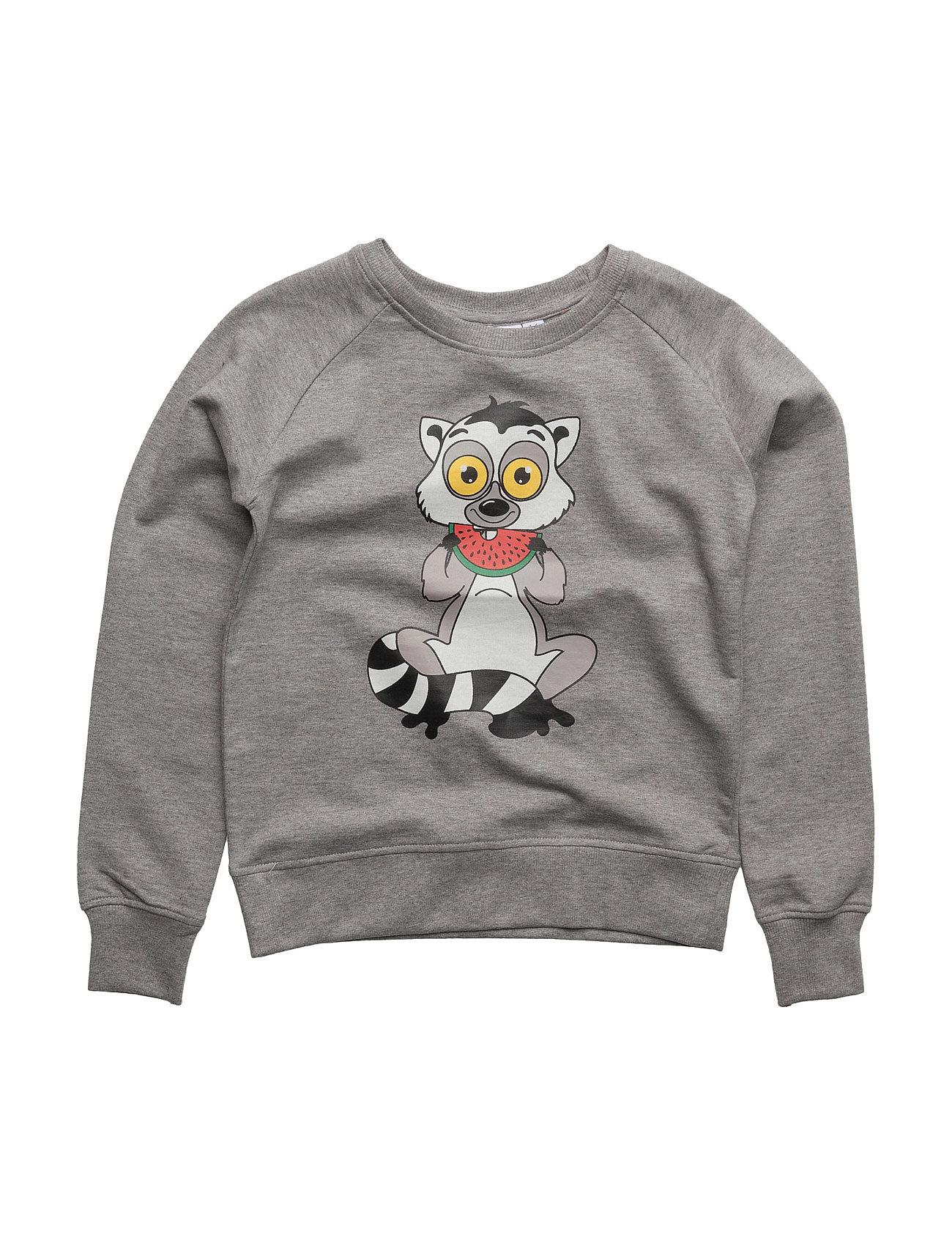 tao & friends Sweatshirt lemuren single-animal grey på boozt.com dk